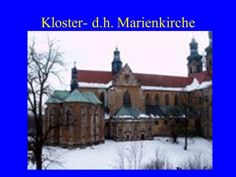 Kloster- d.h. Marienkirche