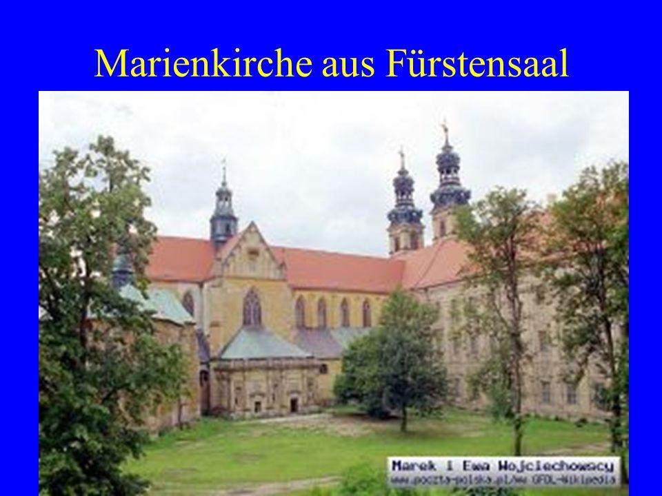 Marienkirche aus Fürstensaal