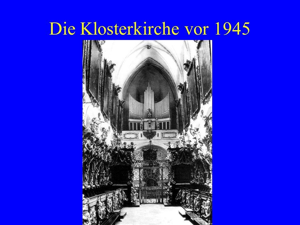 Die Klosterkirche vor 1945