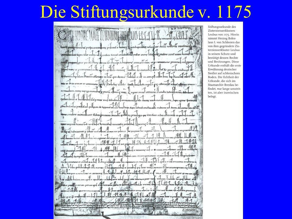 Hussitenkriege bringen Niedergang 1400 Rechte wesentlich verstärkt Umfangreiche klösterliche Besitzrechte mehr 1419-36 Hussitenkriege, Verwüstungen 1432 brennt das Kloster völlig nieder Vom Niedergang bedroht Aus Pforta wird neuer Konvent eingesetzt 1498 Rangerhöhung durch den Papst Abt erhält sog.