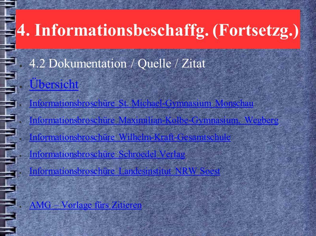 4. Informationsbeschaffg.