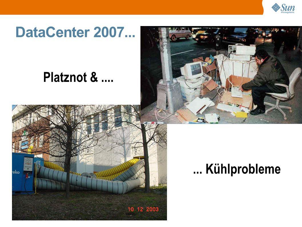 DataCenter 2007... Platznot &....... Kühlprobleme