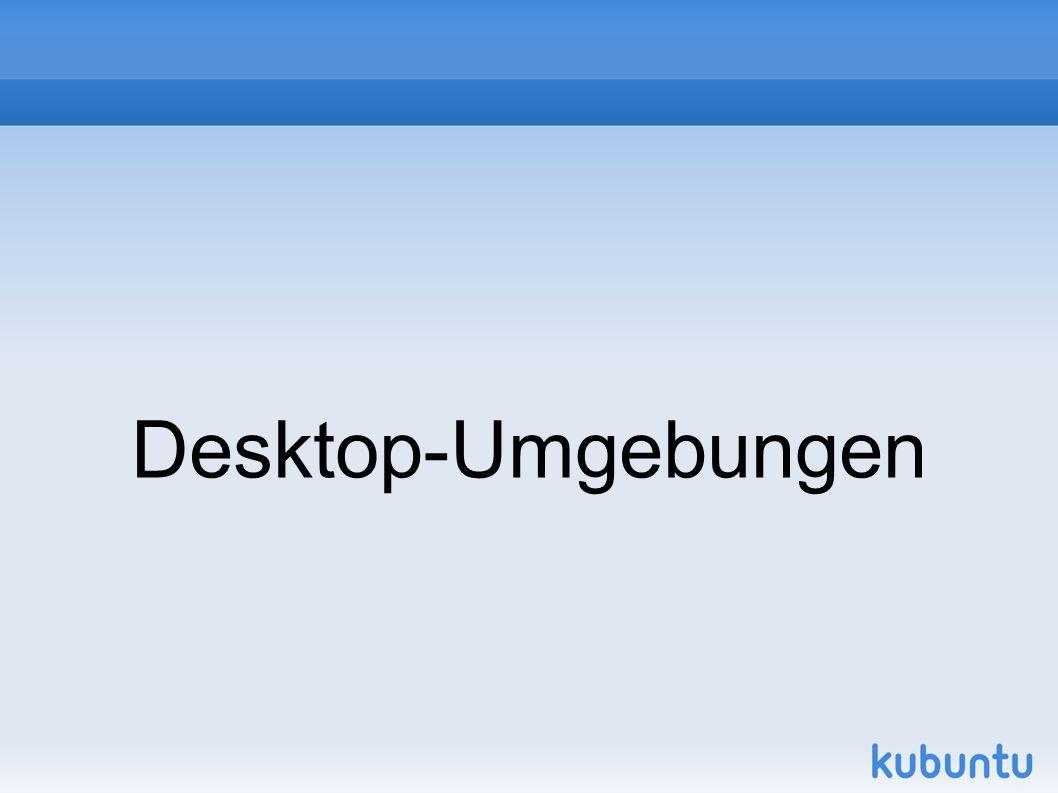 Desktop-Umgebungen