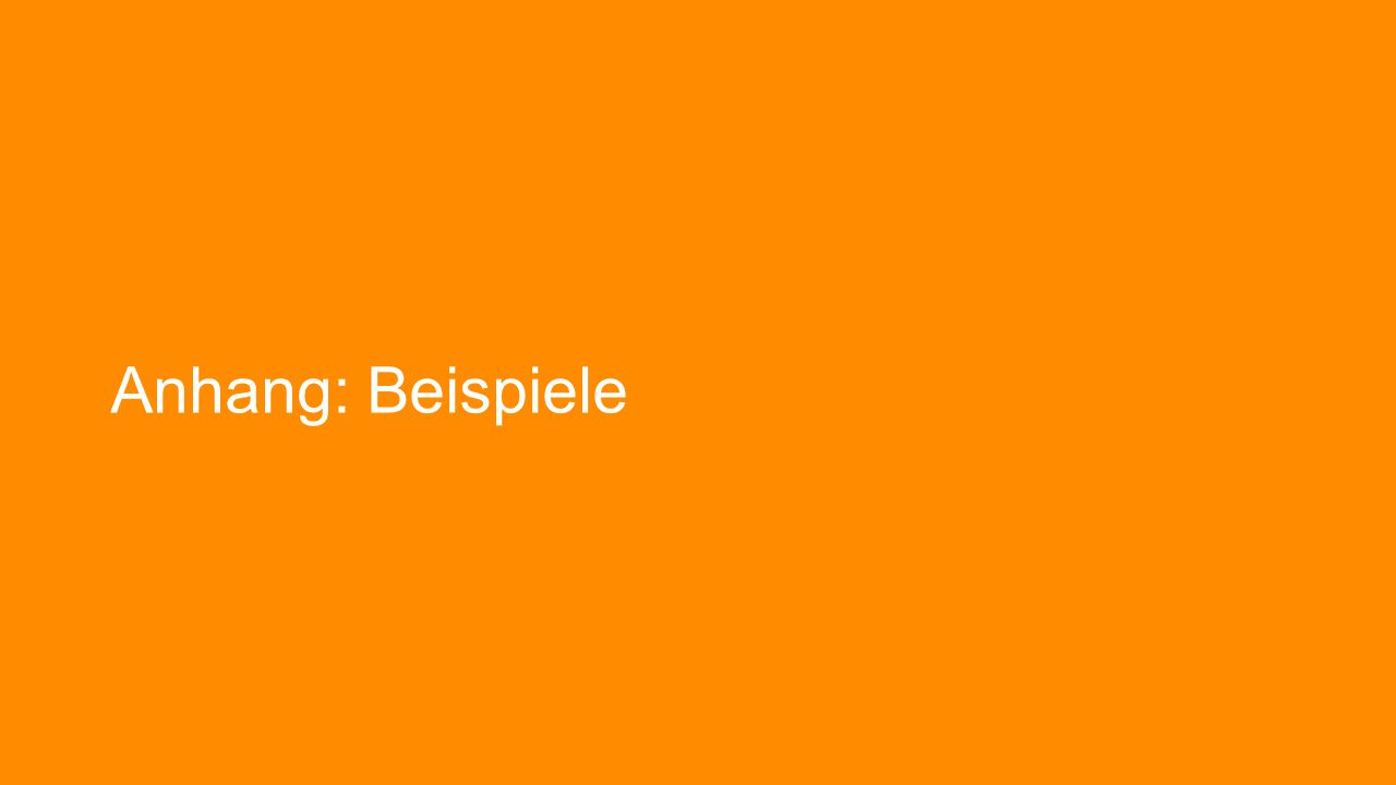 Anhang: Beispiele