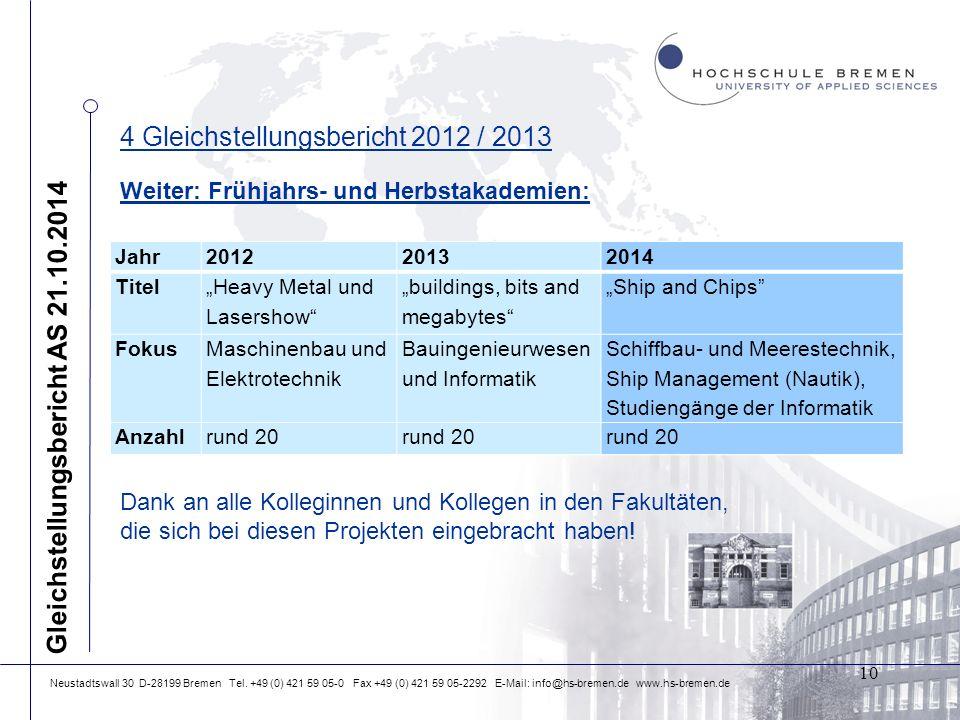 Neustadtswall 30 D-28199 Bremen Tel.