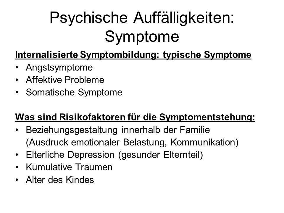 Entwicklungspsychologische Aspekte Reaktionen und Bedürfnisse von Kindern und Jugendlichen