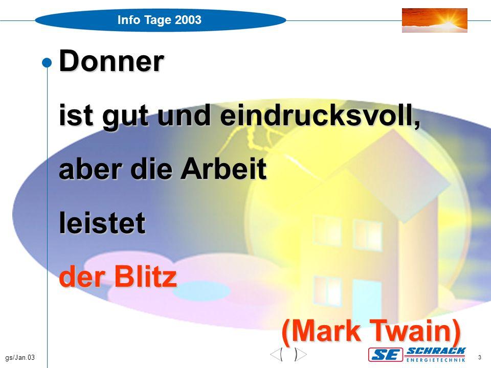 Info Tage 2003 gs/Jan.03 34 Anhang C, Formel Blitzteilströme Z.