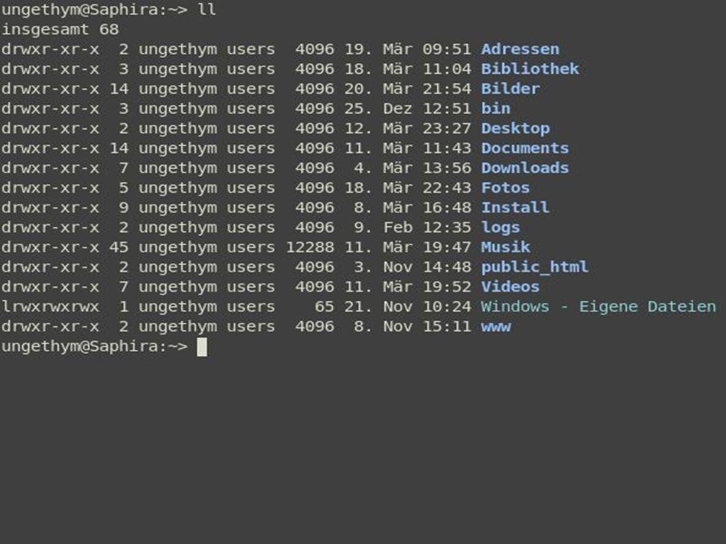 Thomas Thymwww.kde.org 4 Software Betriebssystemkern (z. B. Linux)