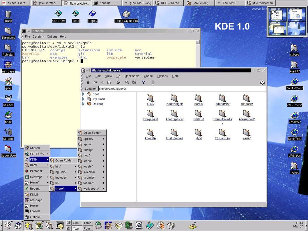 Thomas Thymwww.kde.org 19 Software Betriebssystemkern (z.