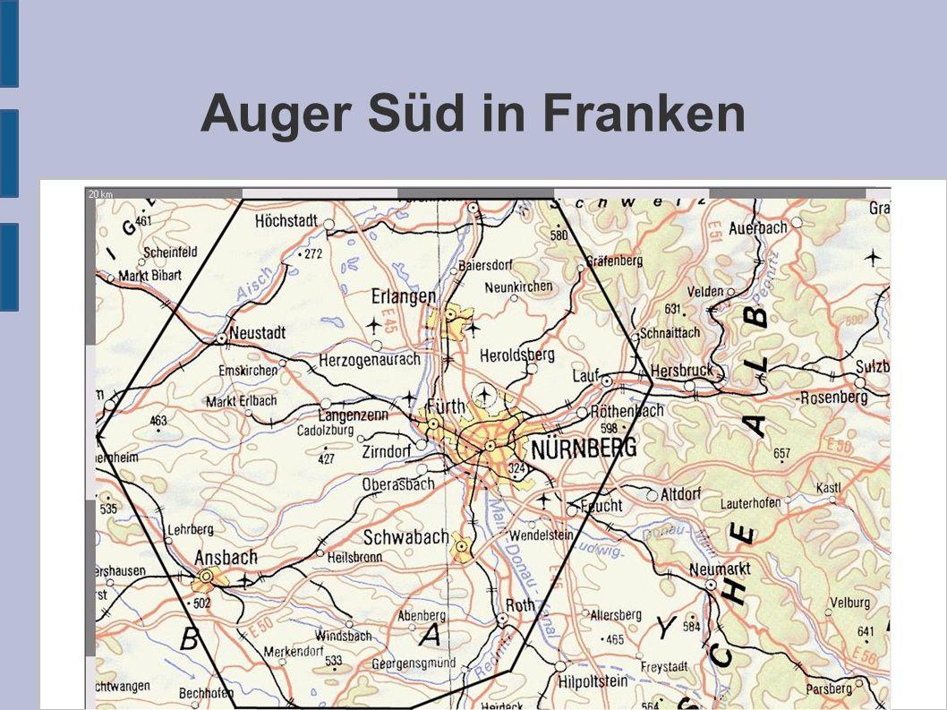 Auger Süd in Franken