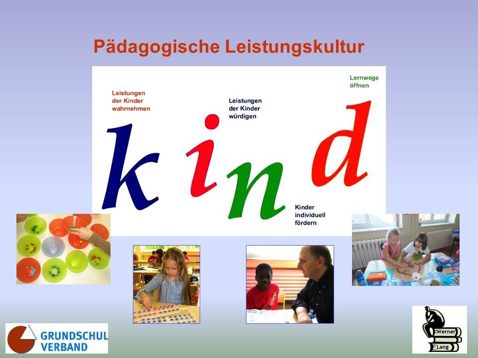 ... im Lernprozess … bei der Leistungsbeurteilung /-bewertung Pädagogische Leistungskultur