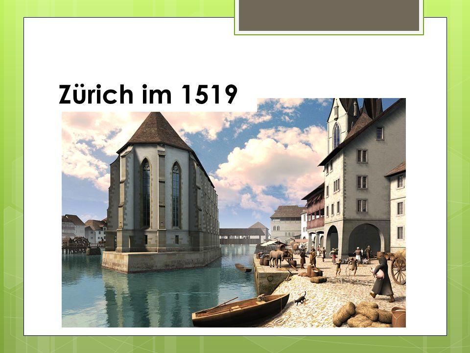 Zürich im 1519