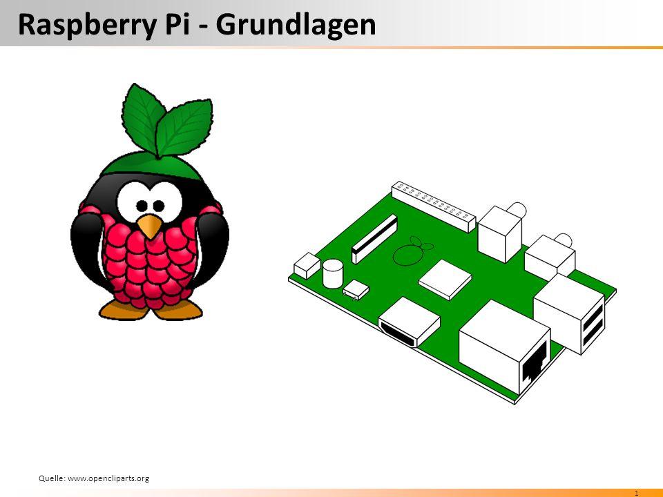 1 Raspberry Pi - Grundlagen Quelle: www.opencliparts.org