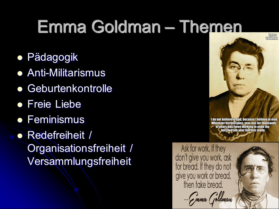 Emma Goldman - Heute Der Schattenblick schreibt: Das Buch hat es auf die Bestsellerlisten geschafft, ist mit Empfehlungen von Süddeutscher Zeitung und NDR (…) auf den umkämpften Buchmarkt begleitet worden.