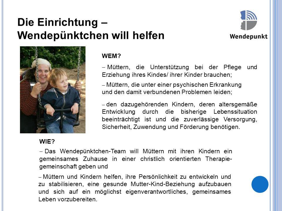 Wendepünktchen – Das Haus Das Haus befindet sich in einem Wohngebiet in zentraler Nähe zur historischen Stadt Langenberg am Rande des Niederbergischen Landes.