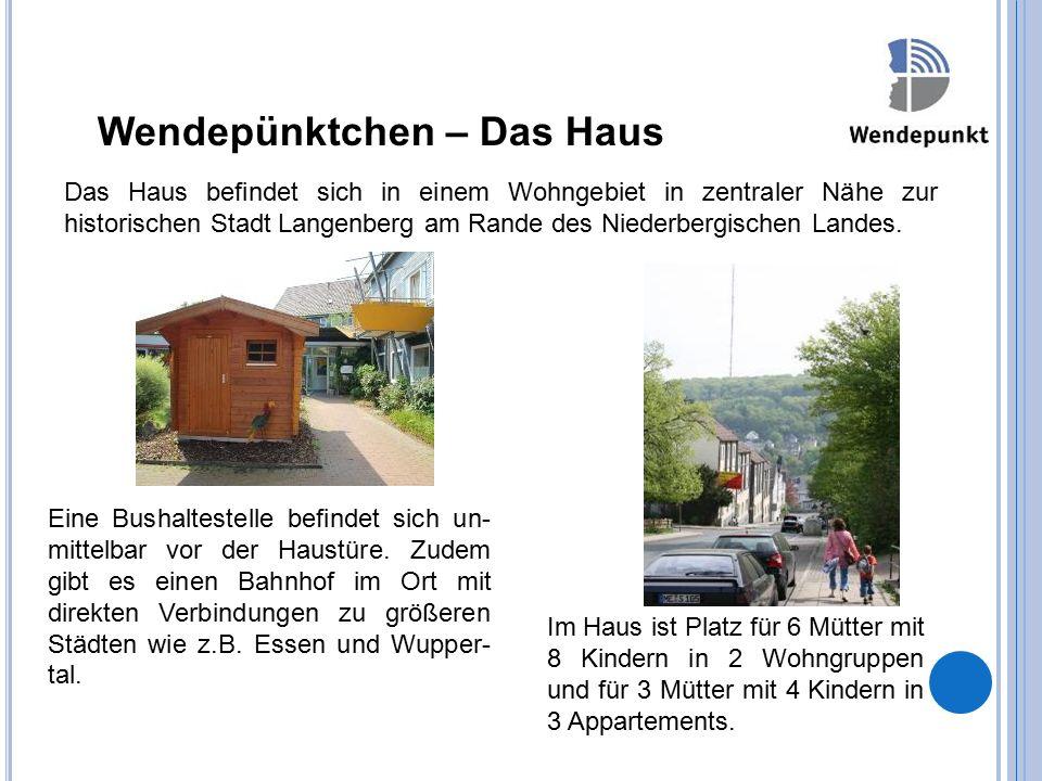 Wendepünktchen – Das Haus Das Haus befindet sich in einem Wohngebiet in zentraler Nähe zur historischen Stadt Langenberg am Rande des Niederbergischen