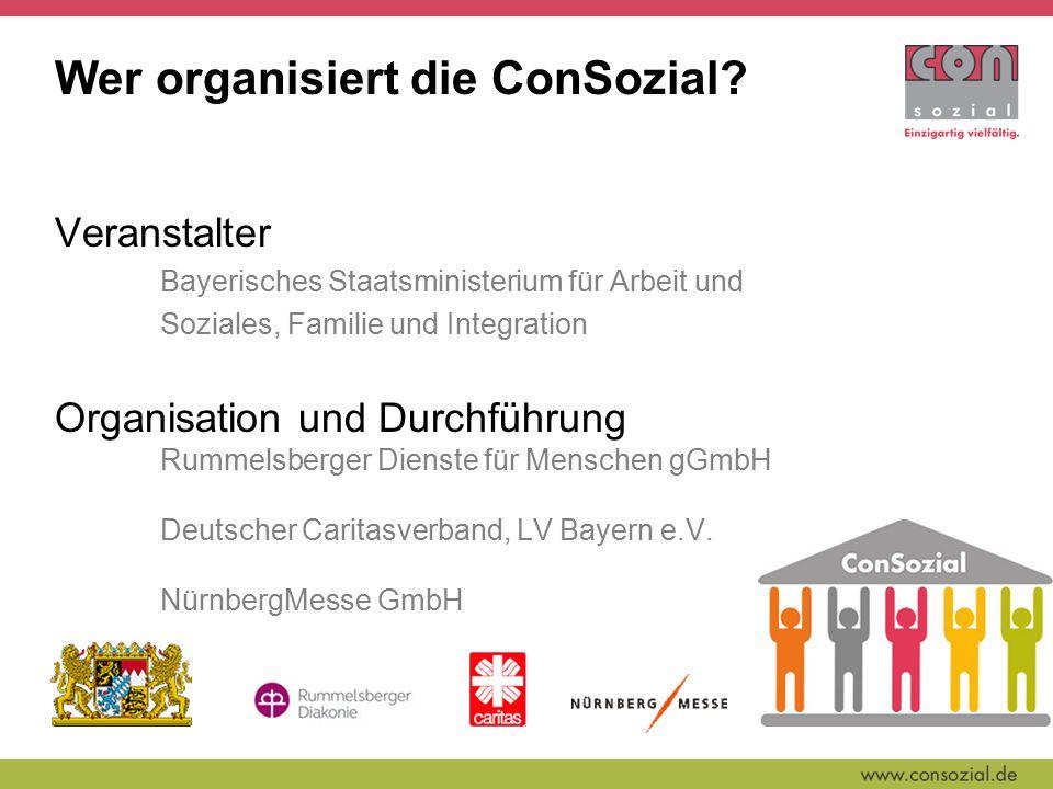 Wer organisiert die ConSozial.