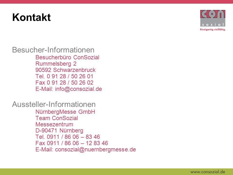 Kontakt Besucher-Informationen Besucherbüro ConSozial Rummelsberg 2 90592 Schwarzenbruck Tel.