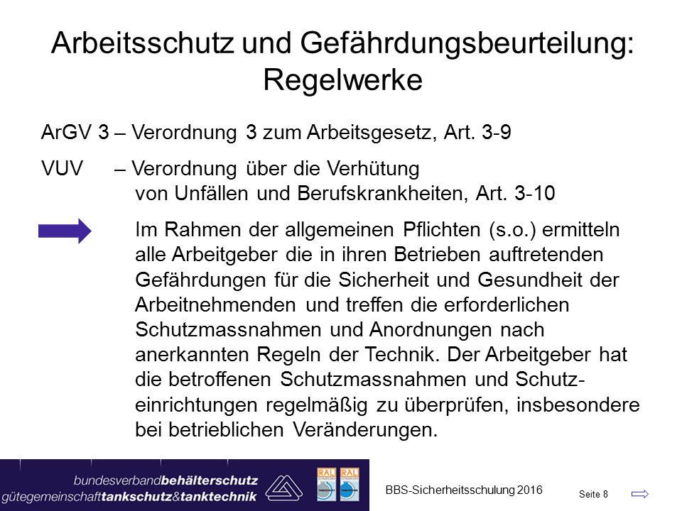ArGV 3– Verordnung 3 zum Arbeitsgesetz, Art.