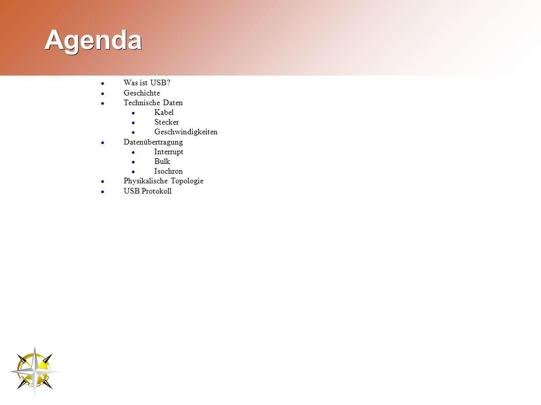 Agenda ● Was ist USB.