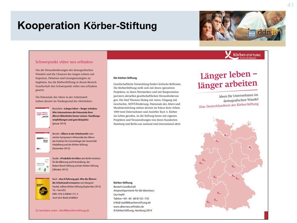 41 Kooperation Körber-Stiftung