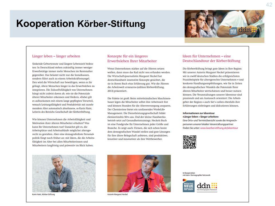 42 Kooperation Körber-Stiftung