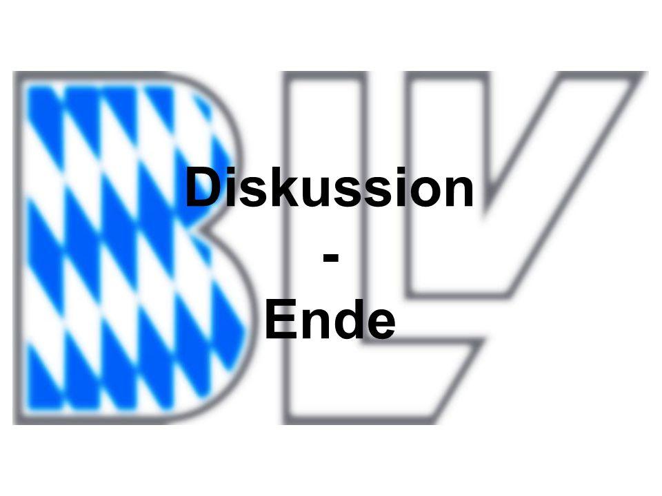 Diskussion - Ende
