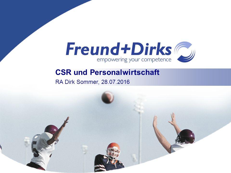 p0001-01 CSR und Personalwirtschaft RA Dirk Sommer, 28.07.2016