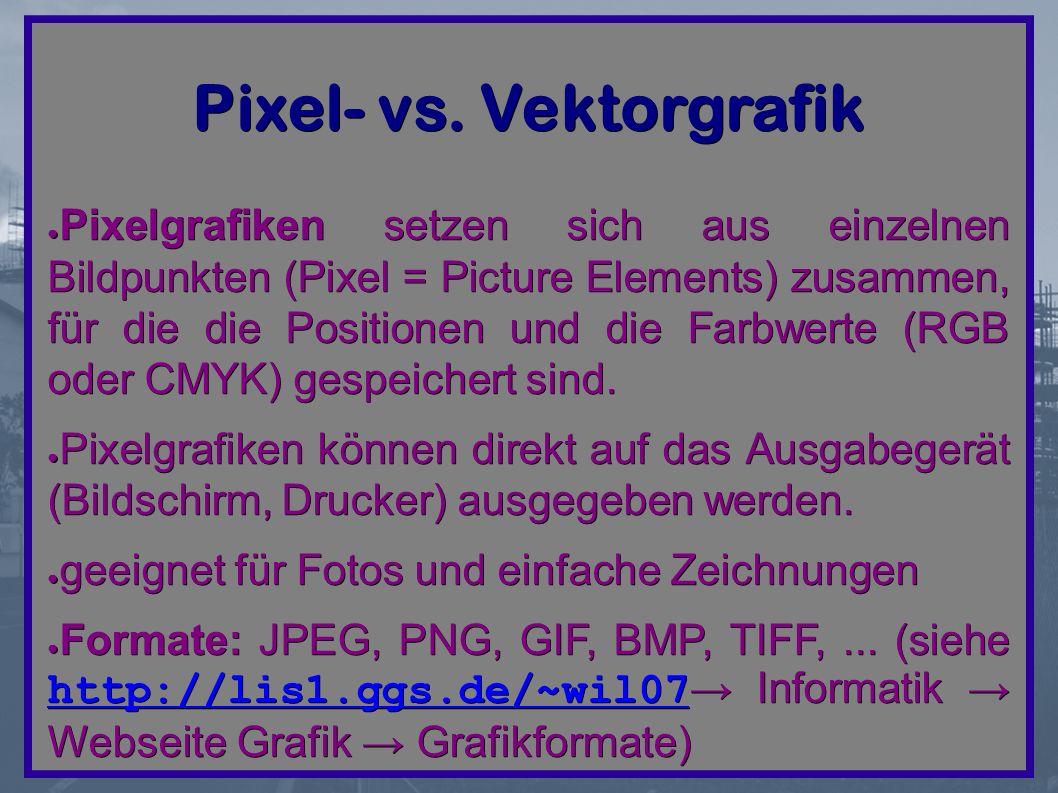 Pixel- vs.