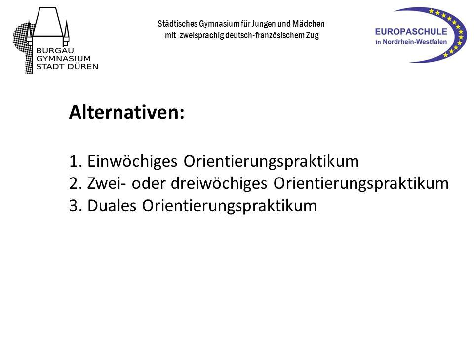 ab heute: Suche eines geeigneten Betriebspraktikumsplatzes!.