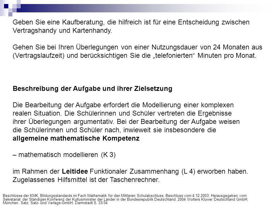 Beispielrechnung einer Schulklasse (optional) http://www.waldoberschule.de/mathematik/impressionen.htm#lk12