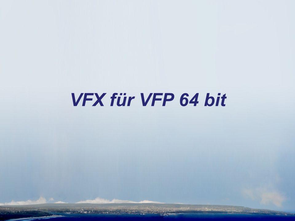 VFX für VFP 64 bit