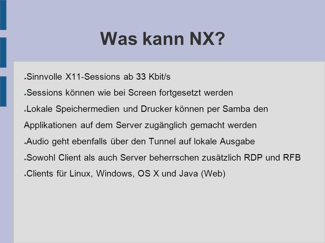 Was kann NX.