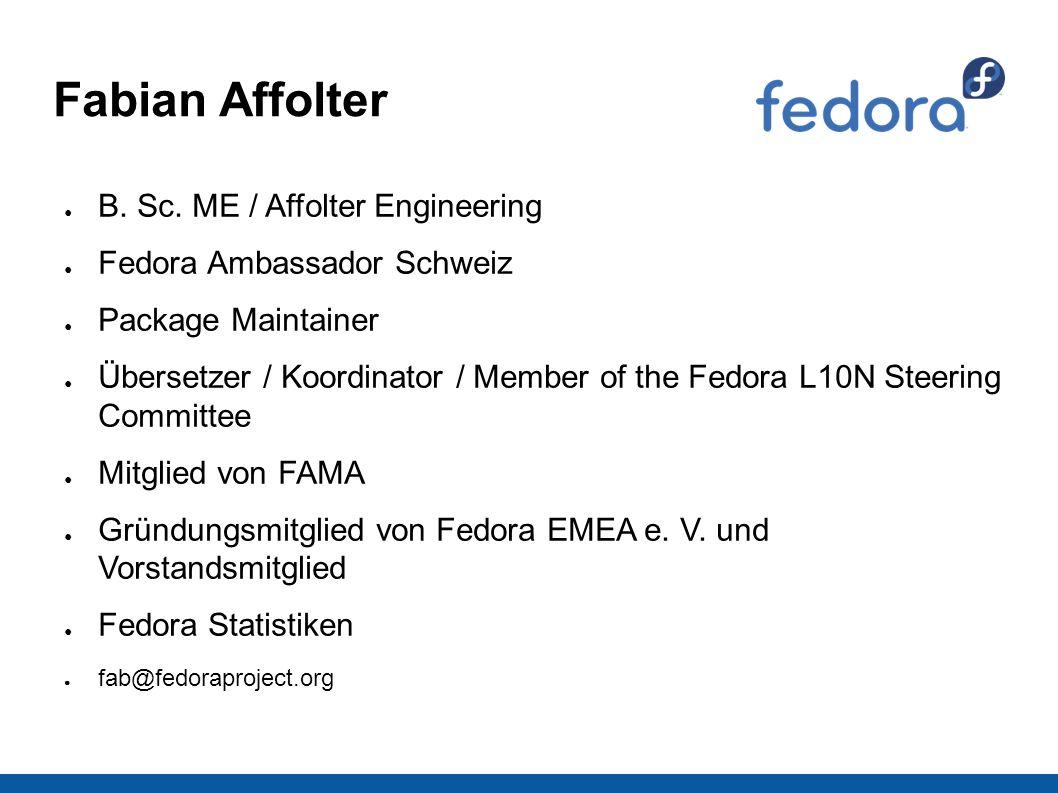 Fabian Affolter ● B. Sc.
