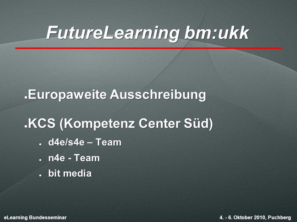 eLearning Bundesseminar 4. - 6.