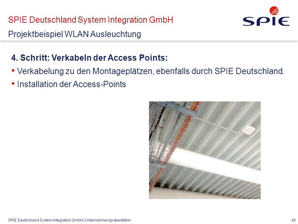 SPIE Deutschland System Integration GmbH | Unternehmenspräsentation 46 4.