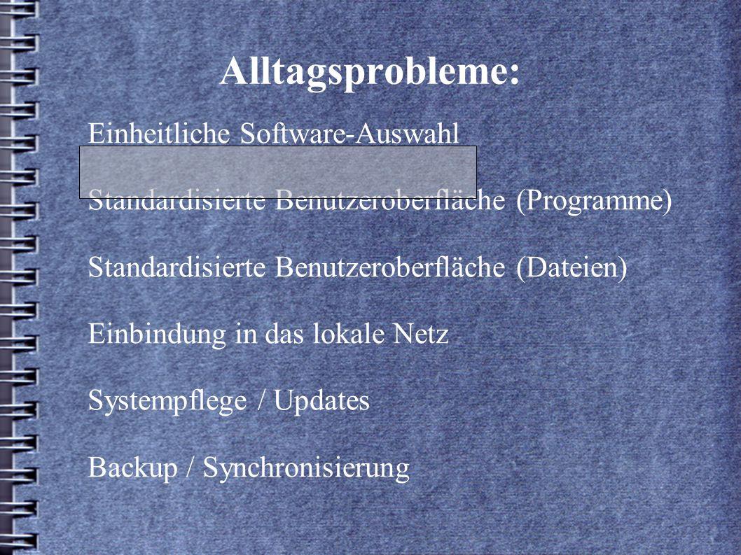 Das Programm-Fenster: