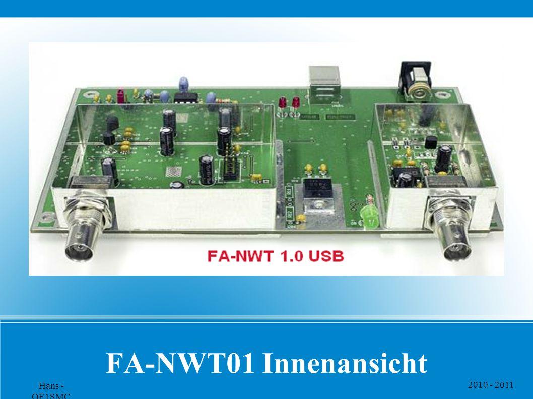 2010 - 2011 Hans - OE1SMC FA-NWT01 Innenansicht