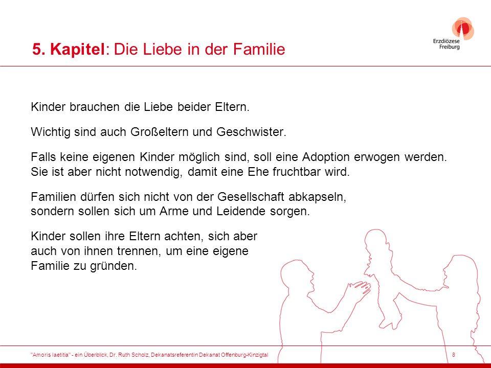 8 5. Kapitel: Die Liebe in der Familie Kinder brauchen die Liebe beider Eltern.
