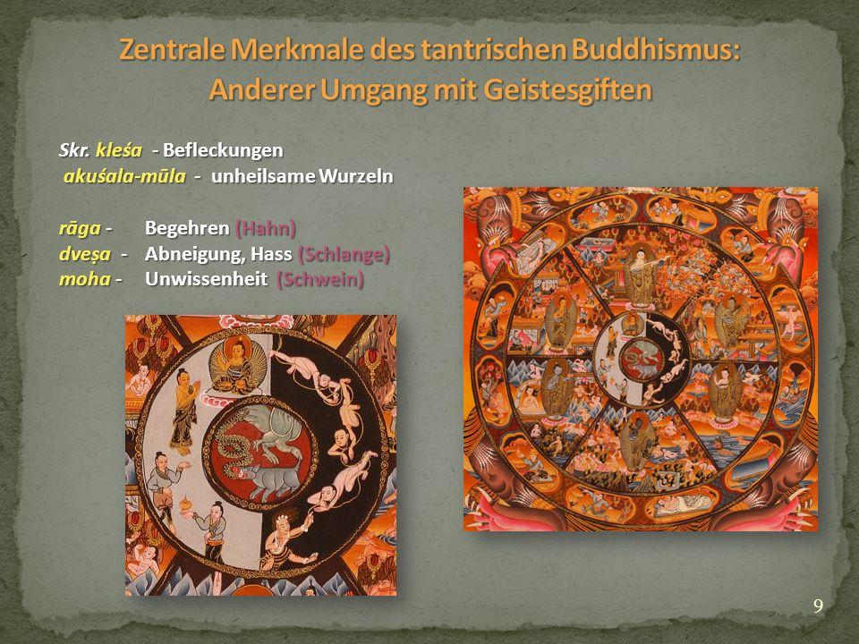 10 Śāntideva (7./8.Jh.): Bodhicaryāvatāra (Skr.