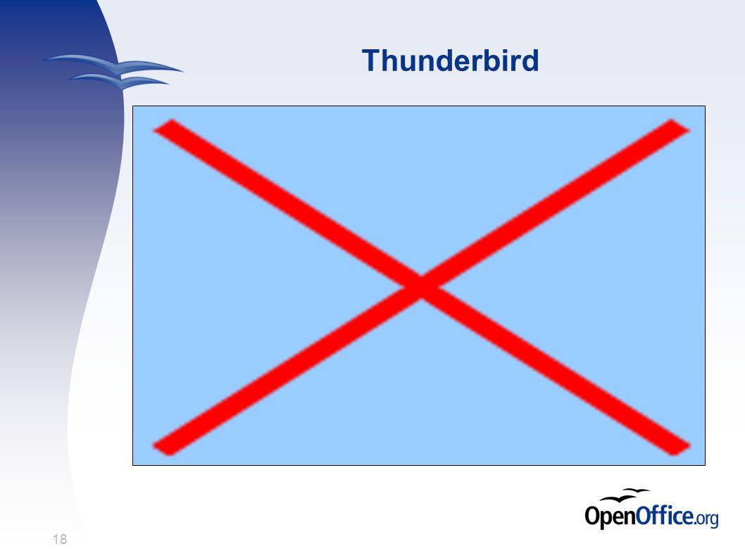 18 Thunderbird