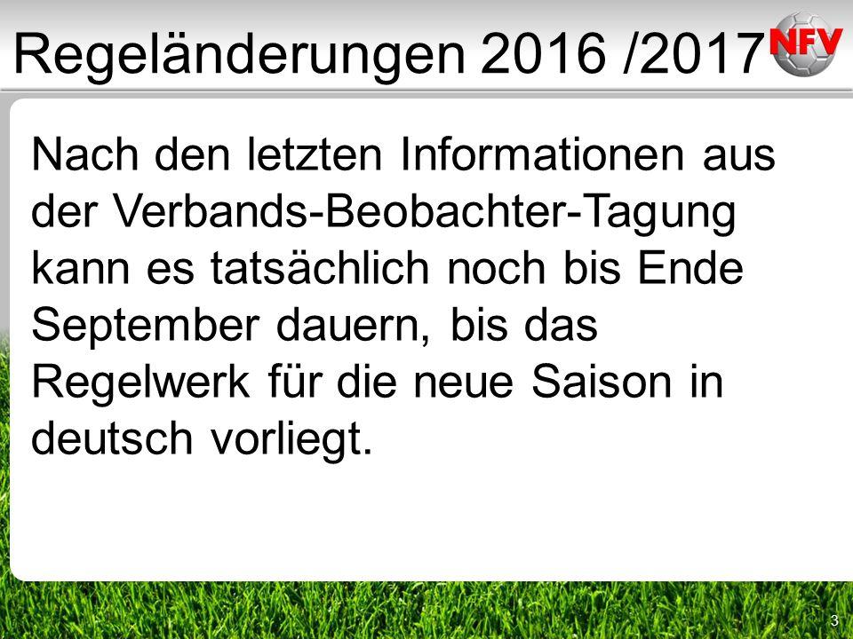 3 Nach den letzten Informationen aus der Verbands-Beobachter-Tagung kann es tatsächlich noch bis Ende September dauern, bis das Regelwerk für die neue Saison in deutsch vorliegt.