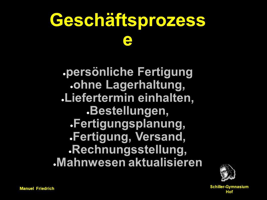 Manuel Friedrich Schiller-Gymnasium Hof Wieviele Angestellte benötigt man, um 100, 1000 oder 10.000 Lohnab- rechnungen zu erstellen?