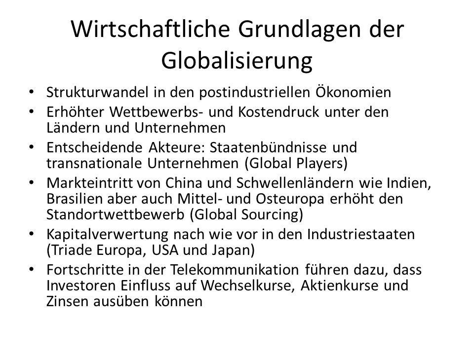 theoretische Grundlagen ökonomische, kulturelle, politische und soziale Prozesse der Globalisierung  verschiedene multiple Netzwerke aus unterschiedlichen globalen Bereichen sozialer Aktivität