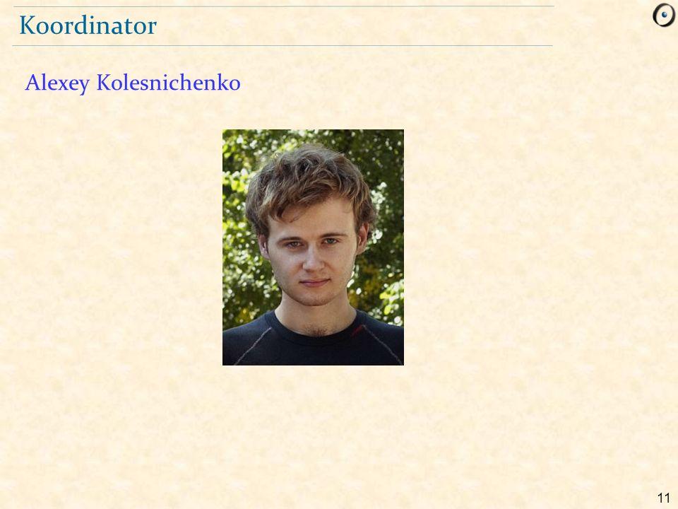 11 Koordinator Alexey Kolesnichenko