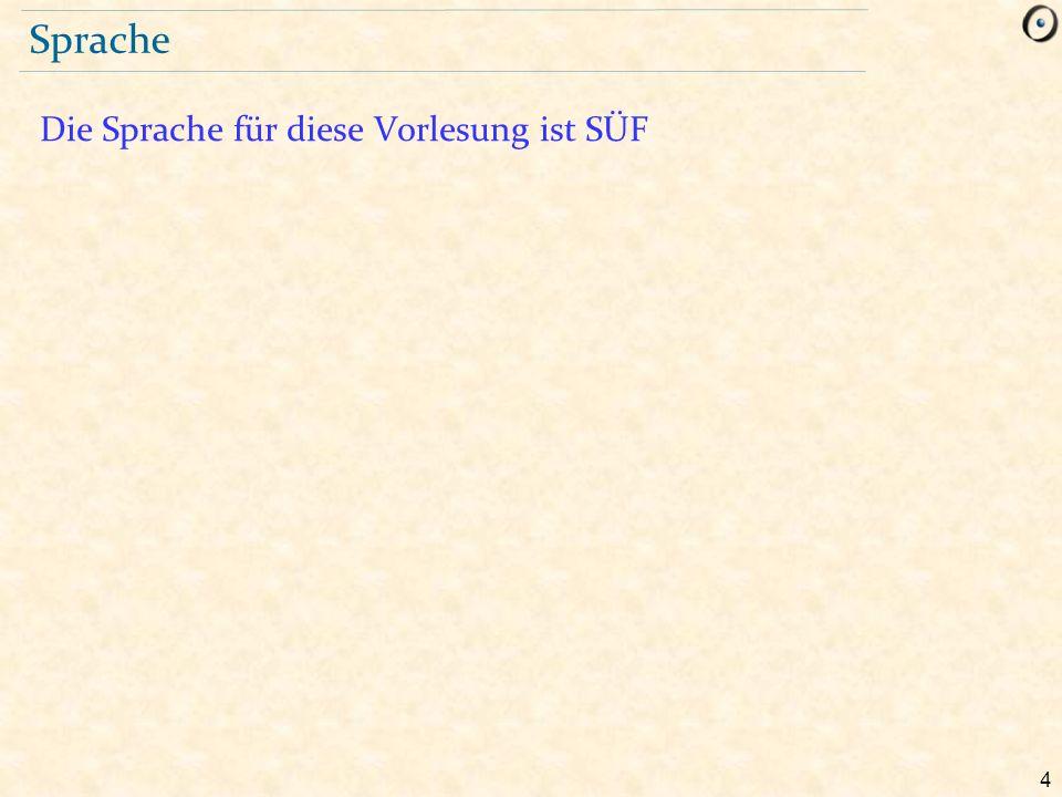 5 Geschwindigkeit auf Deutsch