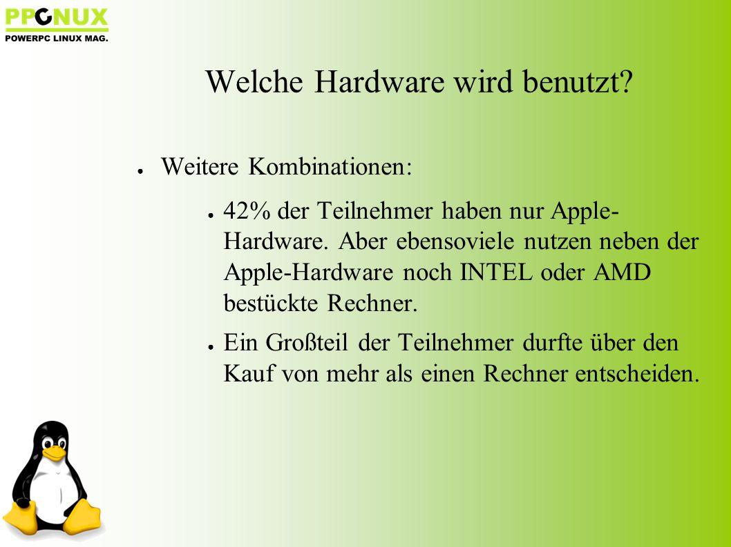 Welche Hardware wird benutzt.