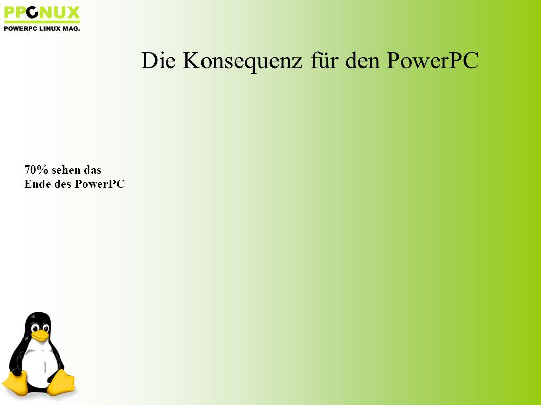 70% sehen das Ende des PowerPC