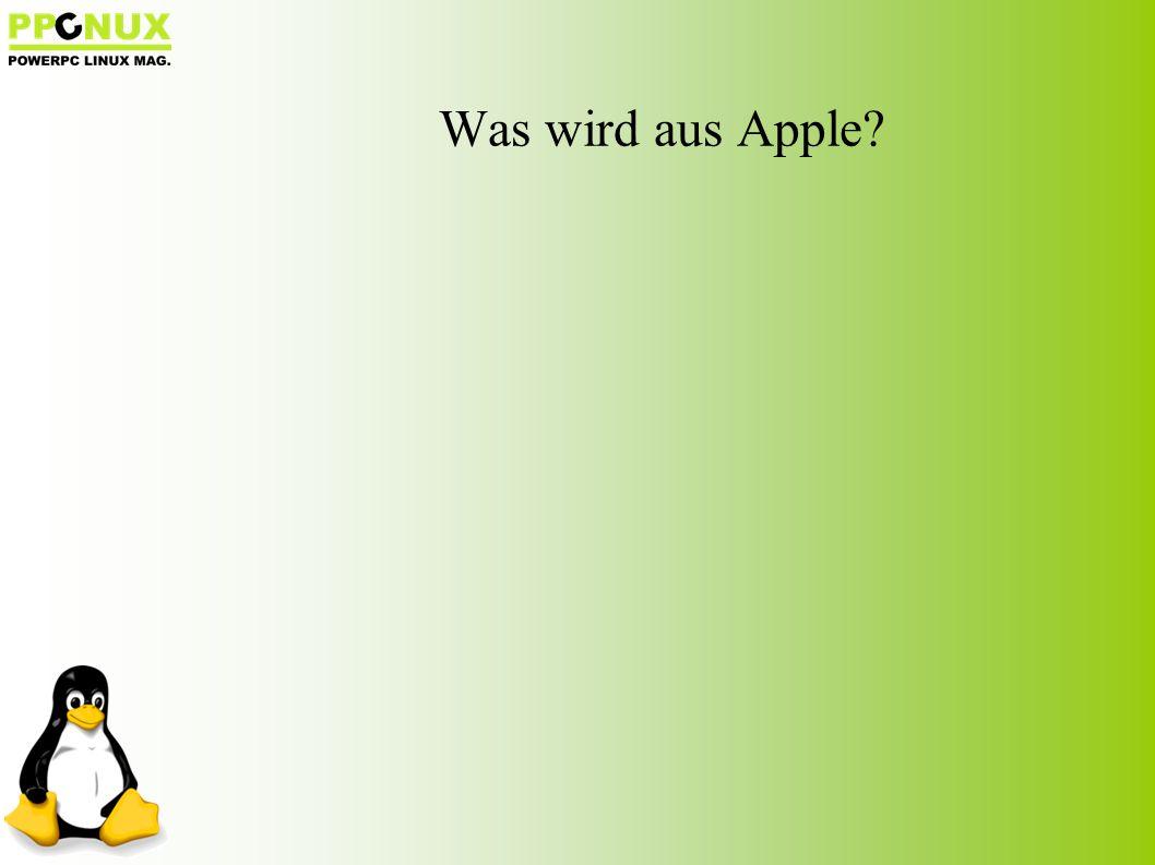 Was wird aus Apple?