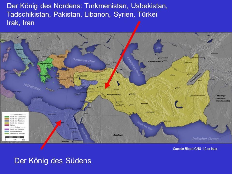 Captain Blood GNU 1.2 or later Der König des Südens Der König des Nordens: Turkmenistan, Usbekistan, Tadschikistan, Pakistan, Libanon, Syrien, Türkei Irak, Iran
